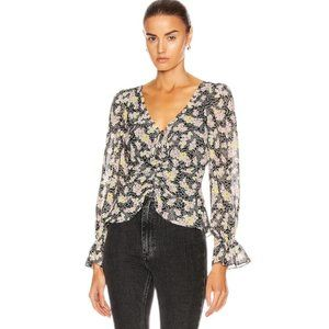[Cinq A Sept] Kimberly Floral Top